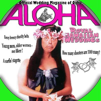Shannon Kernaghan wed-4 Hula Girl Chucks Her Chastity Culture Drinking Hawaii Hula Girls Humor Parties Sex Tropical